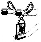 Зажимы для гибких удлинителей  R-1431-2